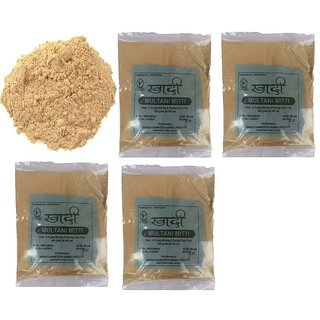 Khadi Multani Mitti Handwash 200 Gms (Pack of 4)