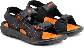 Lotto VERO Black Orange SPORTS Sandal  Men