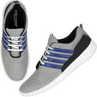 Marco Ferro Men's Grey Lace-up Smart Casuals Shoes