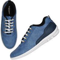 Marco Ferro Men's Blue Lace-up Smart Casuals Shoes