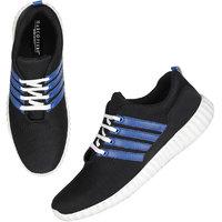 Marco Ferro Men's Black Lace-up Smart Casuals Shoes
