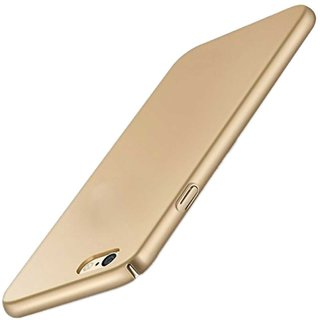 TBZ All Sides Protection Hard Back Case Cover for Vivo Y53 -Golden