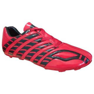 Arynas Womens Port Dragon Red Pu Soccer Shoes