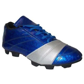 Port Women's Port Nitro Blue Pu Soccer Shoes