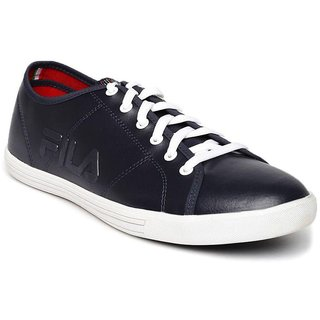 Fila Mens Navy Lace-up Smart Casuals