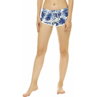 KOTTY Printed Cotton Shorts For Women
