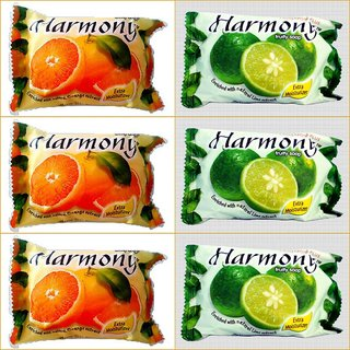 Harmony Fruity Soap ( Mix Pack  6 -75 gms)