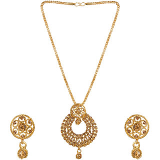 Jewel Treasure Alloy Jewel Set (Gold)