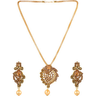 Jewel Treasure Alloy Jewel Set (Gold)