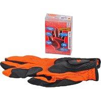 FIT 39 FIT 39EX Golf Gloves (L, Orange, Black)