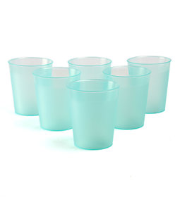 Tumblers/Glasses Incrizma Multipurpose 6 Pc Plastic Microwave safe Glasses Set