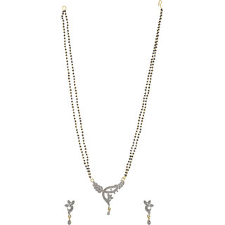 Jewel Treasure American Diamond Alloy Mangalsutra