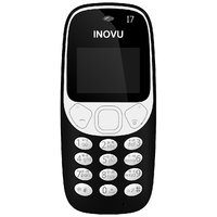 Inovu I7 (1.44 inch, Black & White Display, Single SIM, FM Radio, Torch)
