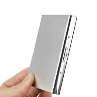 Stainless Steel Atm Visiting Credit Card Holder