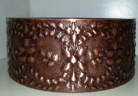REMAC WALL-DOUBLE BOWL COPPER VESSEL SINK