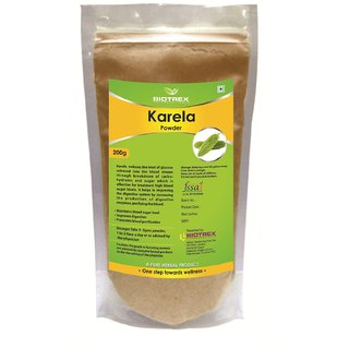 Biotrex Karela Powder - Control Blood Sugar Level(200g)