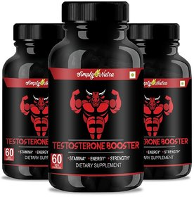 Simply Nutra Muscle Booster Supplements for gym  Boosts Energy  Muscle Growth 800mg (Pack of 3)