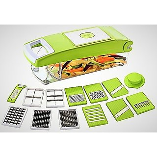 Famous 11 In 1 Vegetable  Fruits Cutter, Slicer, Dicer Grater  Chopper, Peeler By Instadeals