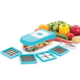 Ganesh 7 In 1 Unbreakable Fruit  Vegetable Quick Chopper