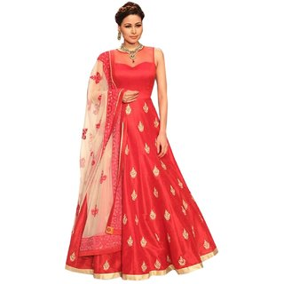 TexStile women's Banglori  Net ready made Full Stitched Dress Material Salwar Suit