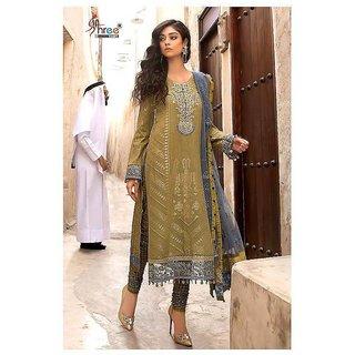 MARIA.B. Lawn 2018 - Spring Summer Pakistani Suit 1017