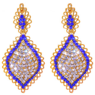 Jewel Treasure Ahalya Alloy Drop Earring