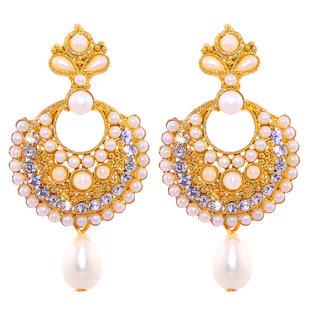 Jewel Treasure Amita Alloy Drop Earring