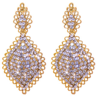 Jewel Treasure Ajalaa Alloy Drop Earring