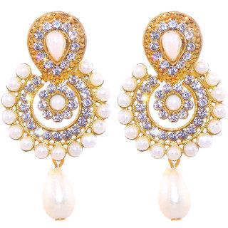 Jewel Treasure Amla Alloy Drop Earring