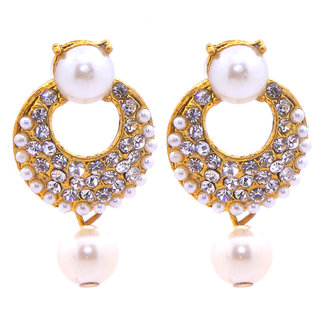 Jewel Treasure Alisha Alloy Drop Earring