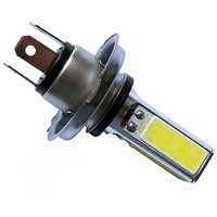 Capeshoppers H4 4 Led Cob Light for all bike and cars