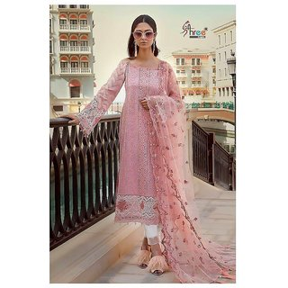 MARIA.B. Lawn 2018 - Spring Summer Pakistani Suit 1018