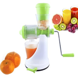 Fruit Vegetable Juicer Fruit Juicer Mixer With Vacuum Base - Color May Very