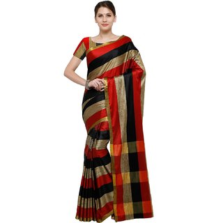 20a9765cc5aba7 Buy Best Collection Self Design Cotton Silk Saree With Blouse Online ...