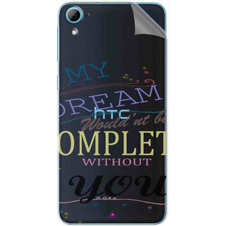 Snooky Digital Print Tpu Transpanent Mobile Skin Sticker For HTC Desire 826