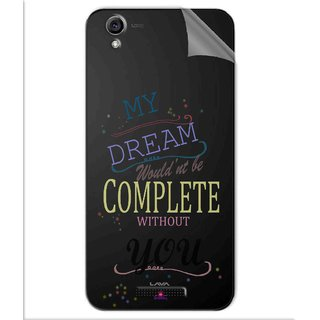 Snooky Digital Print Tpu Transpanent Mobile Skin Sticker For Lava Iris Atom 3