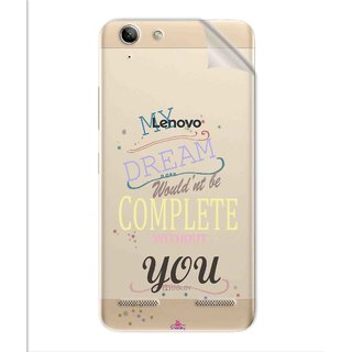 Snooky Digital Print Tpu Transpanent Mobile Skin Sticker For Lenovo Vibe K5 Plus