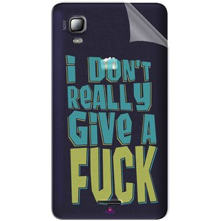 Snooky Digital Print Tpu Transpanent Mobile Skin Sticker For Micromax Canvas Doodle 3 A102