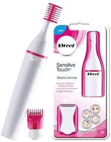 Sweet Sensitive Touch Electric Trimmer Eyebrows Underarms Hair Remover for Womens