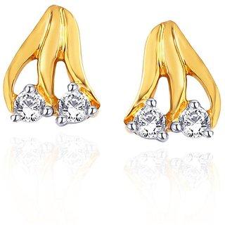 Maya Gold Earrings ADE00173_22KT