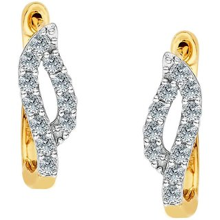 Maya Gold Earrings ADE00662_22KT