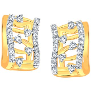 Maya Gold Earrings ADE00677_22KT