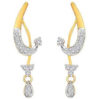 Maya Gold Earrings ADE00320_22KT