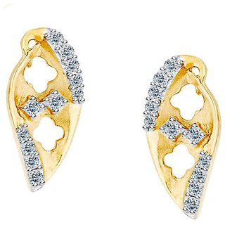 Maya Gold Earrings ADE00784_22KT