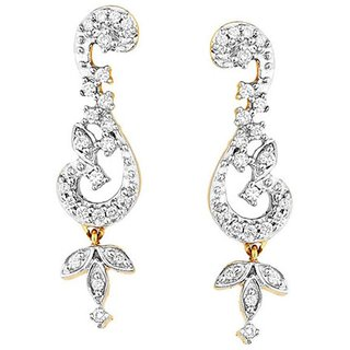Maya Gold Earrings ADE00972_22KT