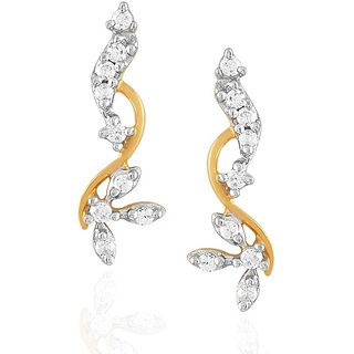 Maya Gold Earrings RZE00061_22KT