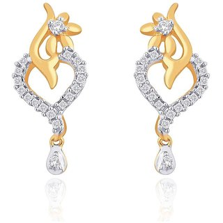 Maya Gold Earrings GIE00101_22KT