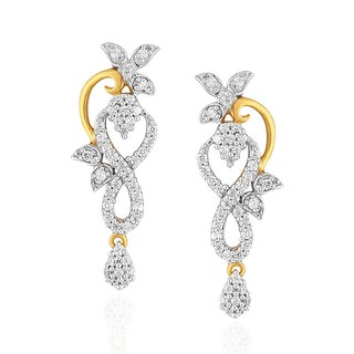 Maya Gold Earrings RZE00217_22KT