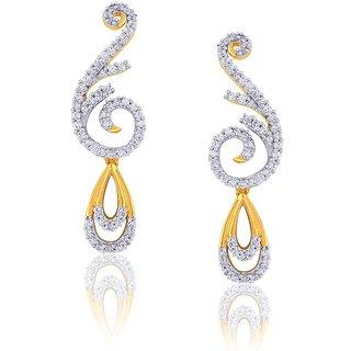 Maya Gold Earrings RZE00181_22KT