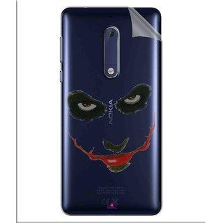 Snooky Digital Print Tpu Transpanent Mobile Skin Sticker For Nokia 5